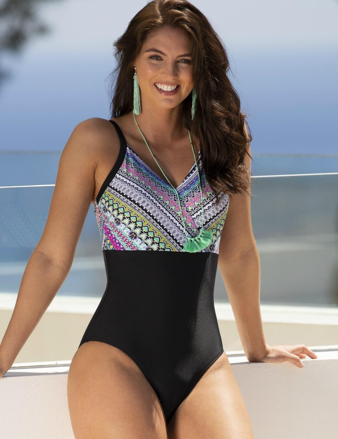 15107 Pour Moi Odyssey Control Swimsuit - 15107 Riviera Maya