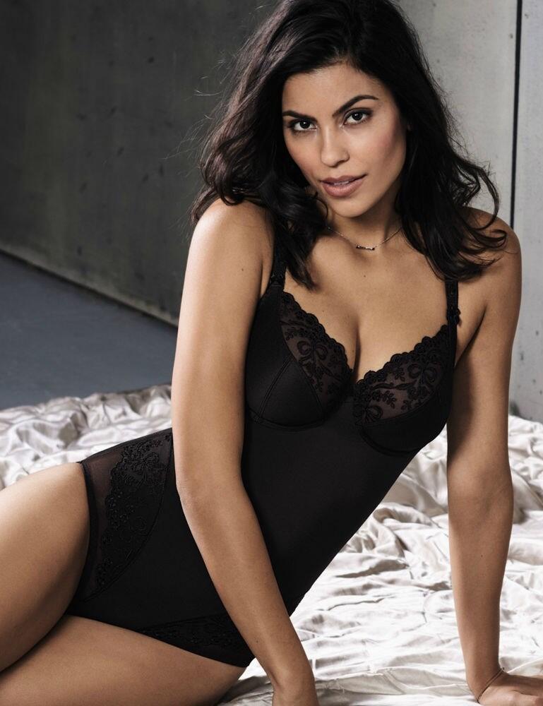 3438 Rosa Faia by Anita Scarlett Underwired Body - 3438 Black