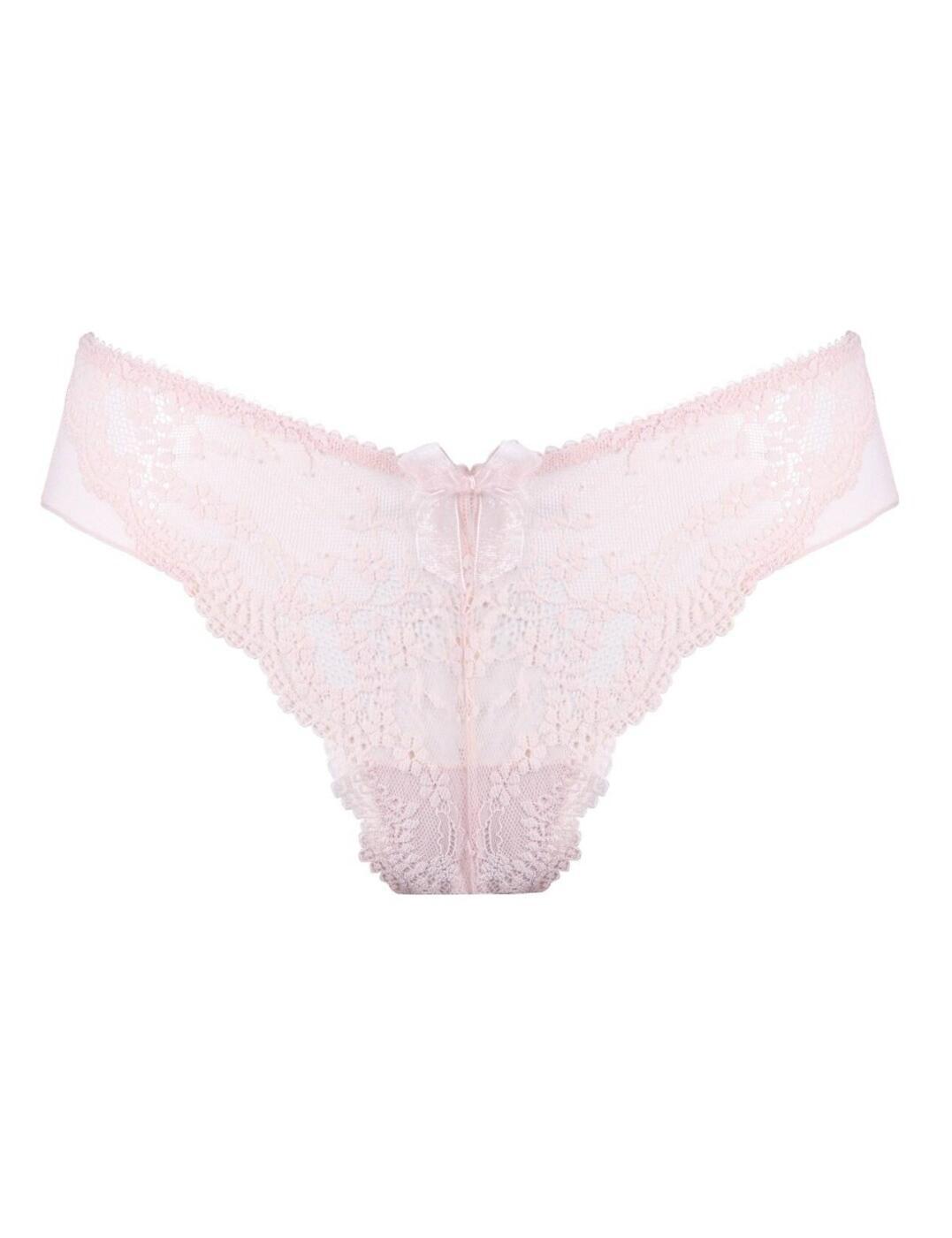 14804 Pour Moi Flora Brazilian Brief - 14804 Soft Pink
