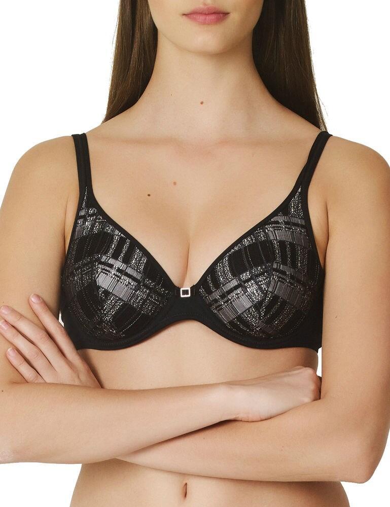 0121805 Marie Jo Arne Triangle Half Padded Bra - 0121805 Black