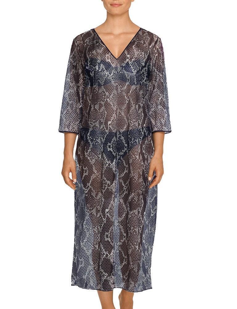 4003994 Prima Donna Swim Kala Long Dress - 4003994 Water Blue