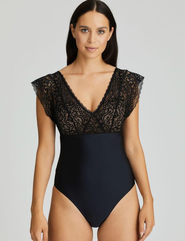 0841600 Prima Donna Twist I Do Bodysuit - 0841600 Black