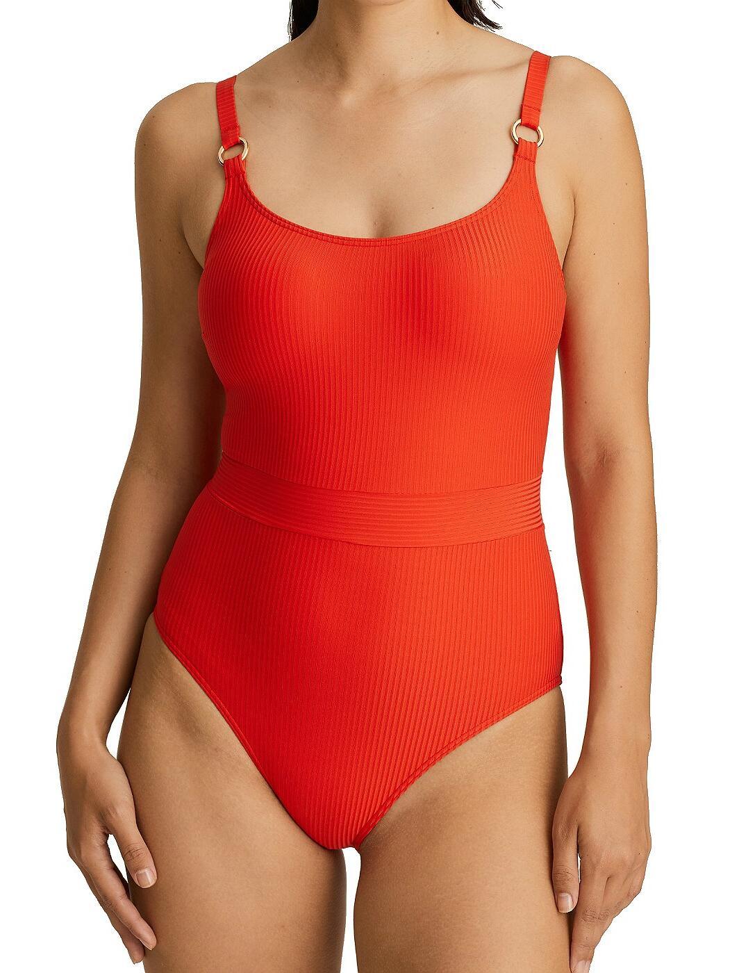 4006338 Prima Donna Swim Sahara Padded Swimsuit - 4006338 Red Pepper