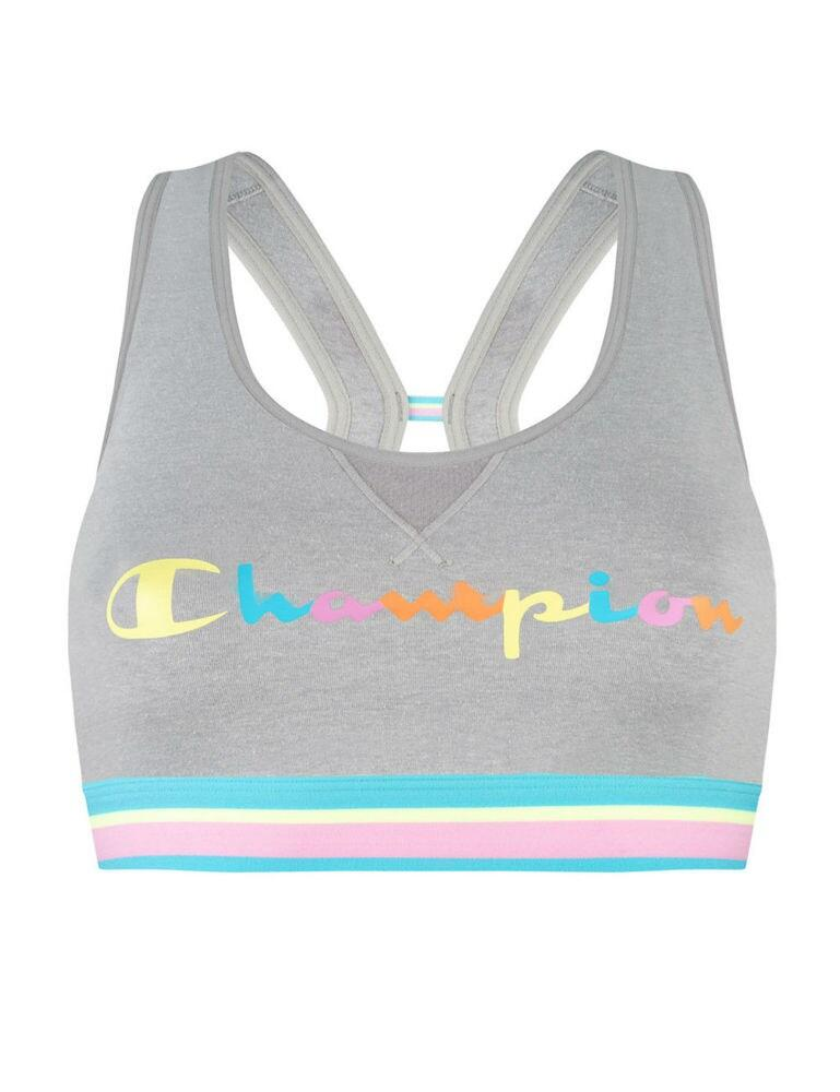 Y08R0 Champion Authentic Crop Top - Y08R0 Light Grey