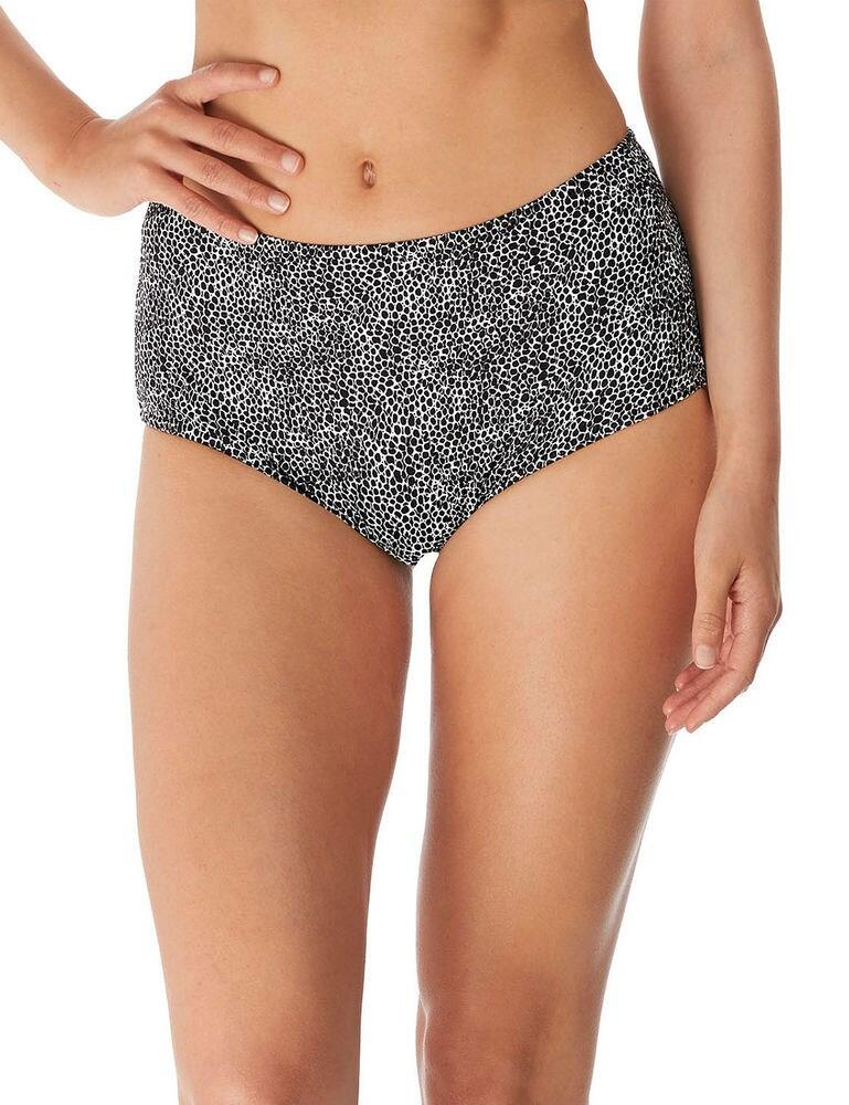 4620 Freya Run Wild High Waist Bikini Brief - 4620 Black