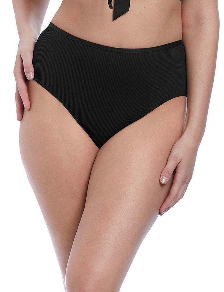 6707 Freya Nouveau High Waisted Bikini Brief - 6707 Black