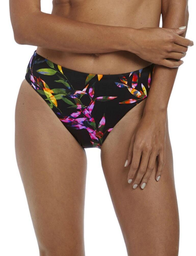 6616 Fantasie Palawan Mid Rise Bikini Brief - 6616 Black