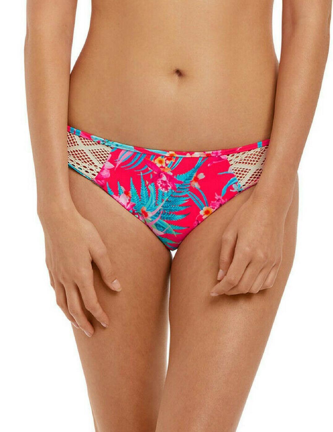 2884 Freya Wild Sun Bikini Brief - 2884 Tropical Punch