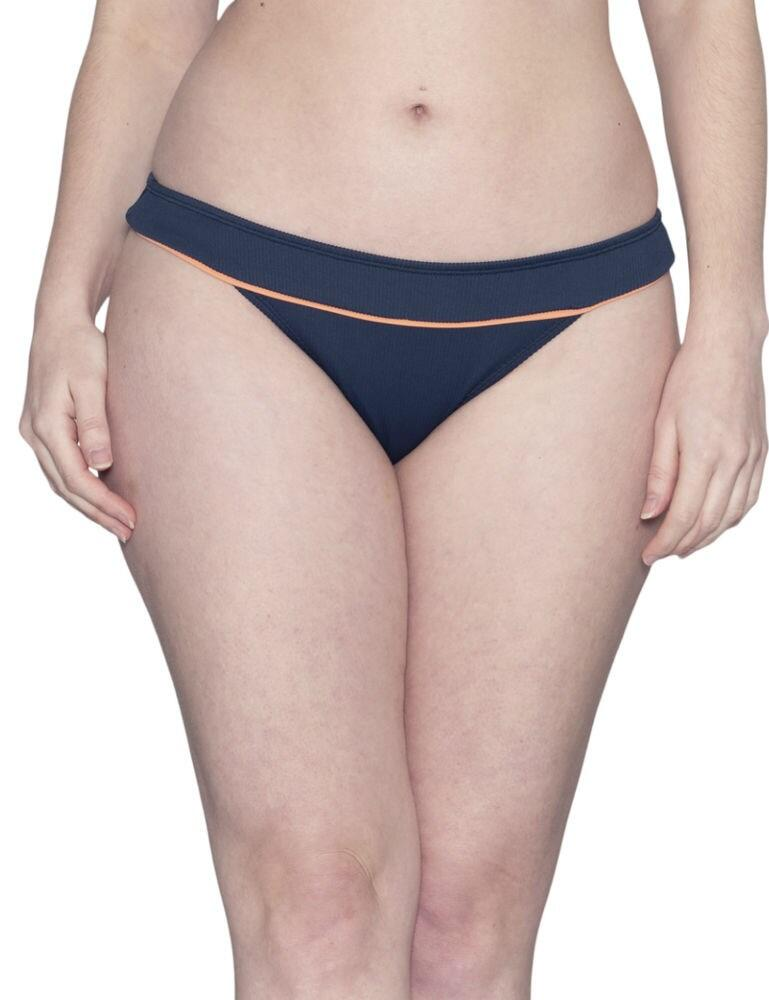 CS010500 Curvy Kate Poolside Bikini Brief - CS010500 Navy/Coral