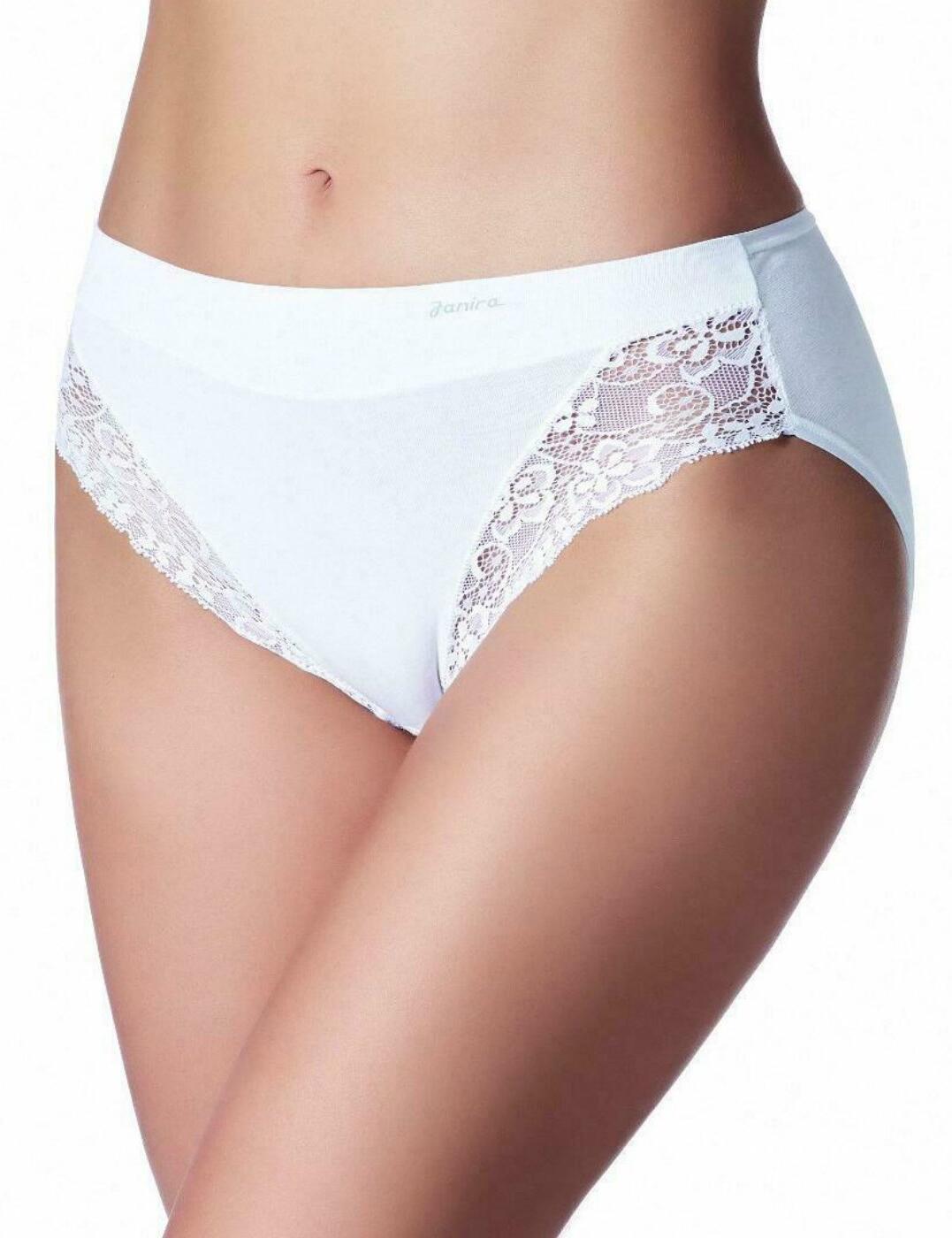 1031645 Janira Essential Milano Queen Brief 2 Pack - 1031645 White
