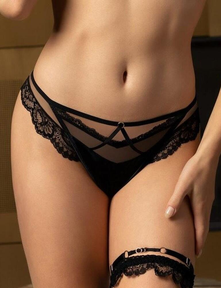ACG0030 Lise Charmel Nouvel Eros Thong - ACG0030 Noir