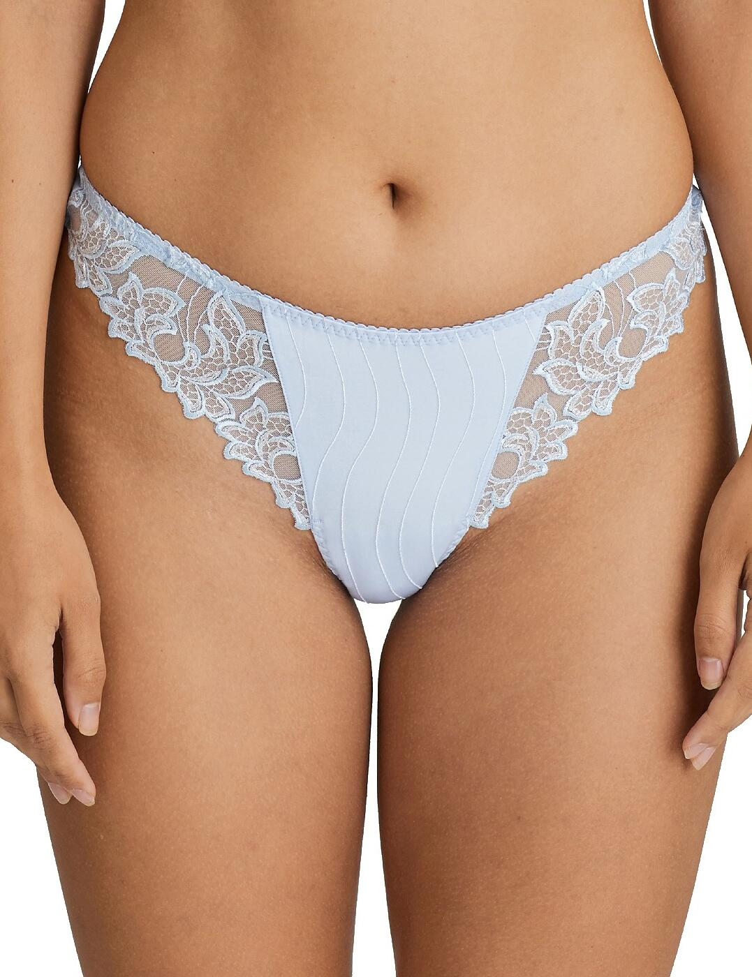 0661810 Prima Donna Deauville Thong - 0661810 Heather Blue