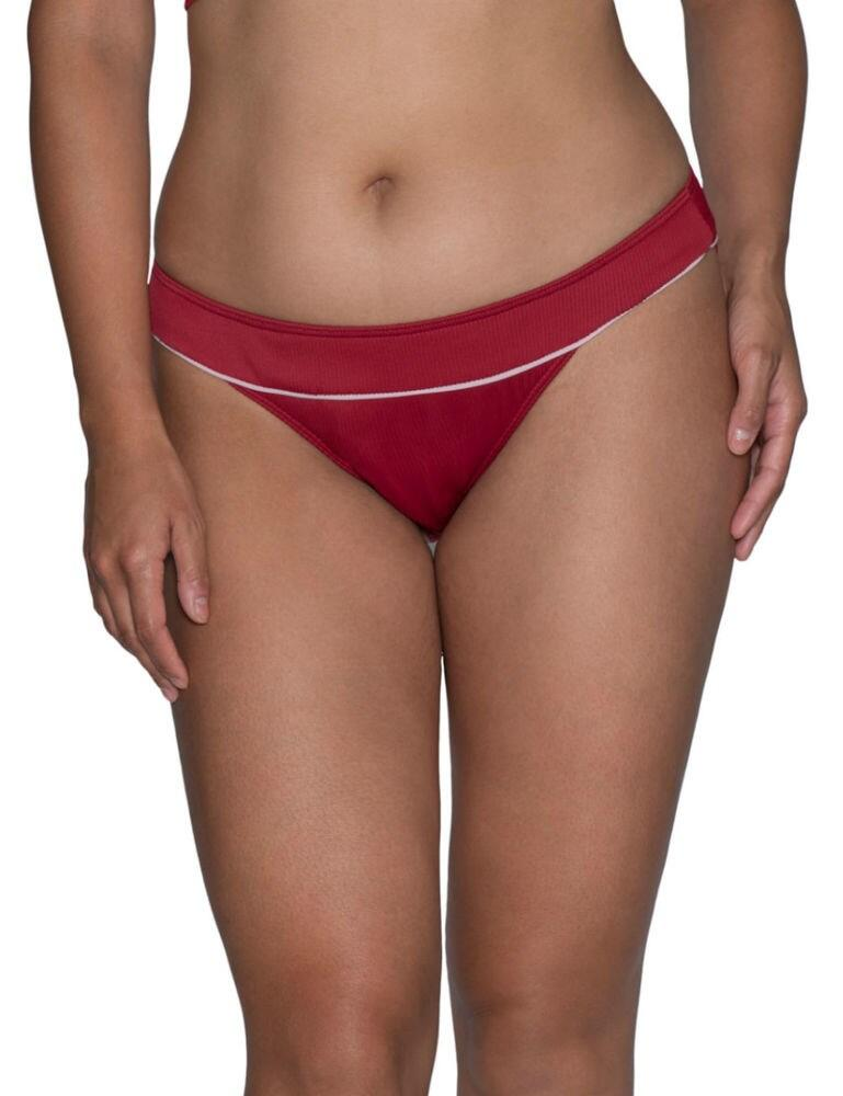 CS010500 Curvy Kate Poolside Bikini Brief - CS010500 Red/Pink