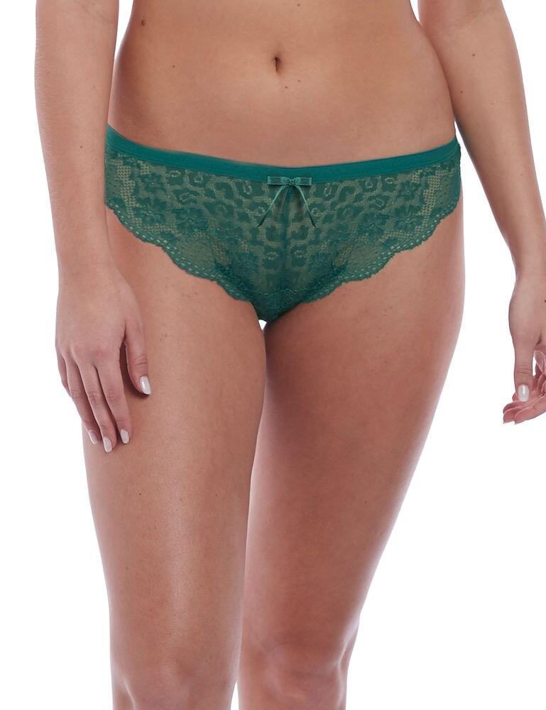 1017 Freya Fancies Brazilian Brief - 1017 Emerald