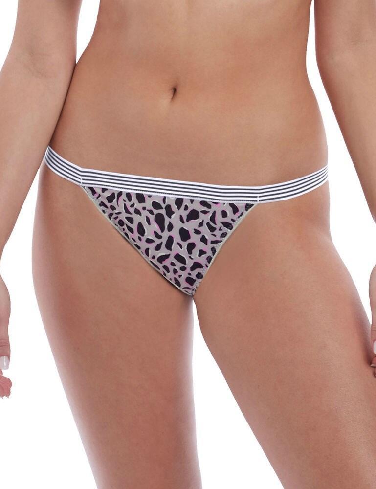 5425 Freya Wild Brief - 5425 Grey Leopard