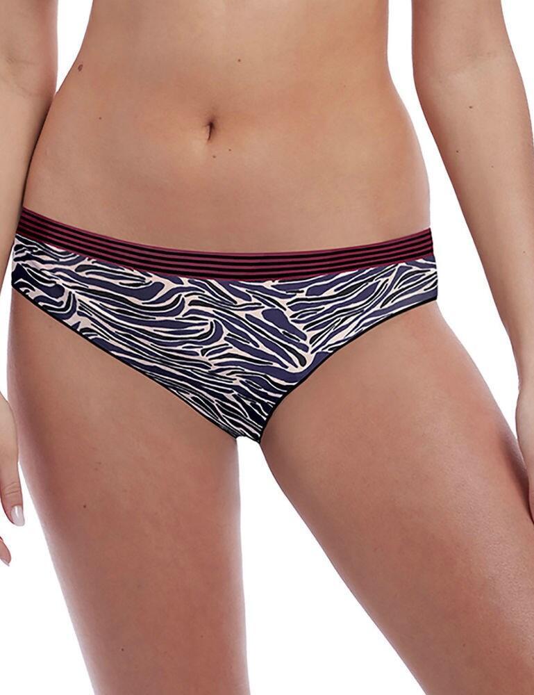 5428 Freya Wild Classic Brief - 5428 Black Zebra