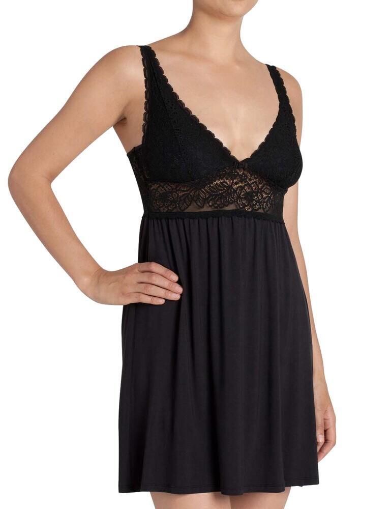 10144324 Triumph Amourette Spotlight Night Dress - 10144324 Black