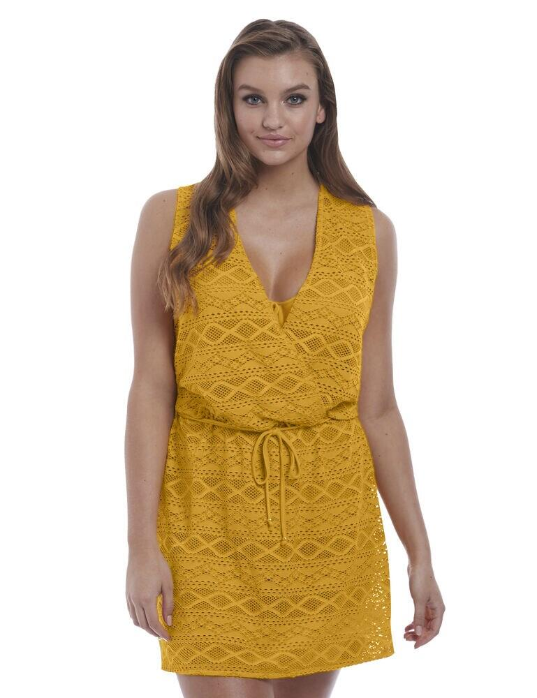 3978 Freya Sundance Cross Over Dress - 3978 California Gold