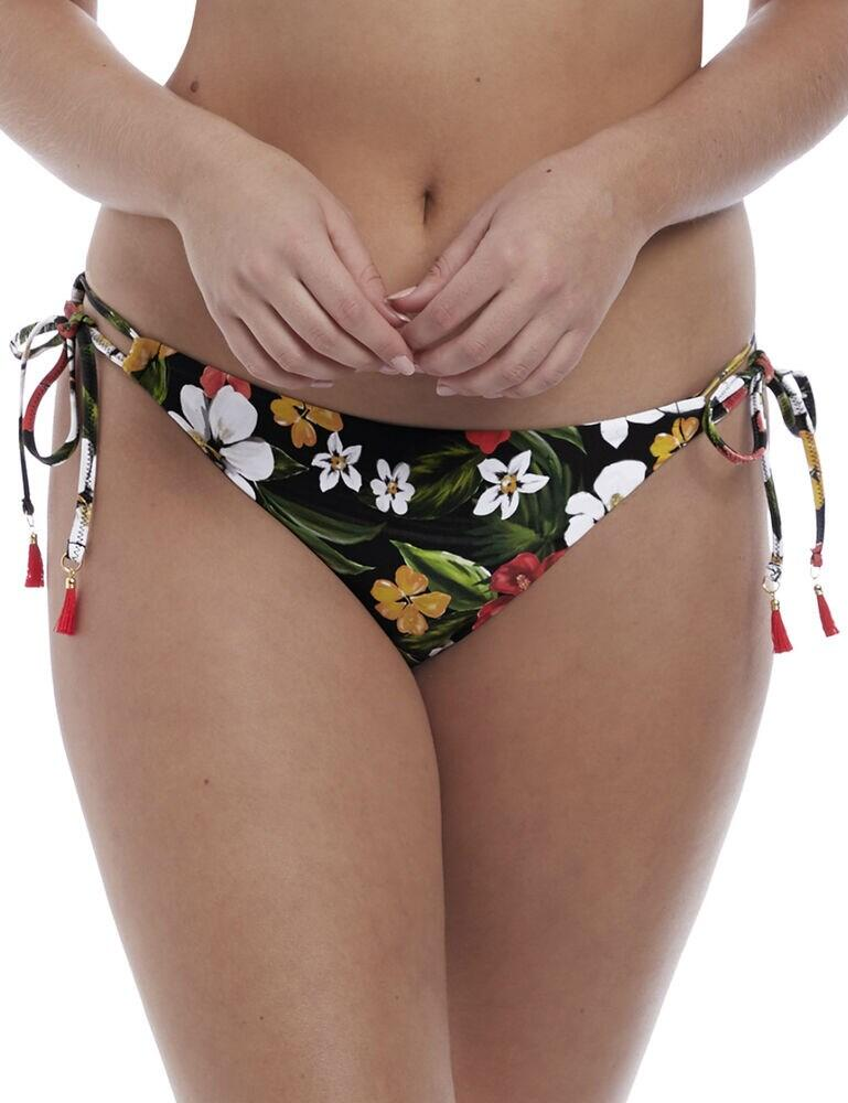 6805 Freya Tiki Bar Tie Side Bikini Brief - 6805 Multi