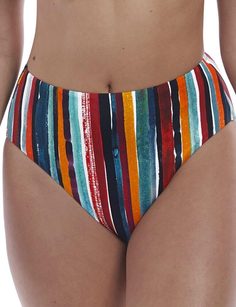 6787 Freya Bali Bay High Waist Bikini Brief - 6787 Multi