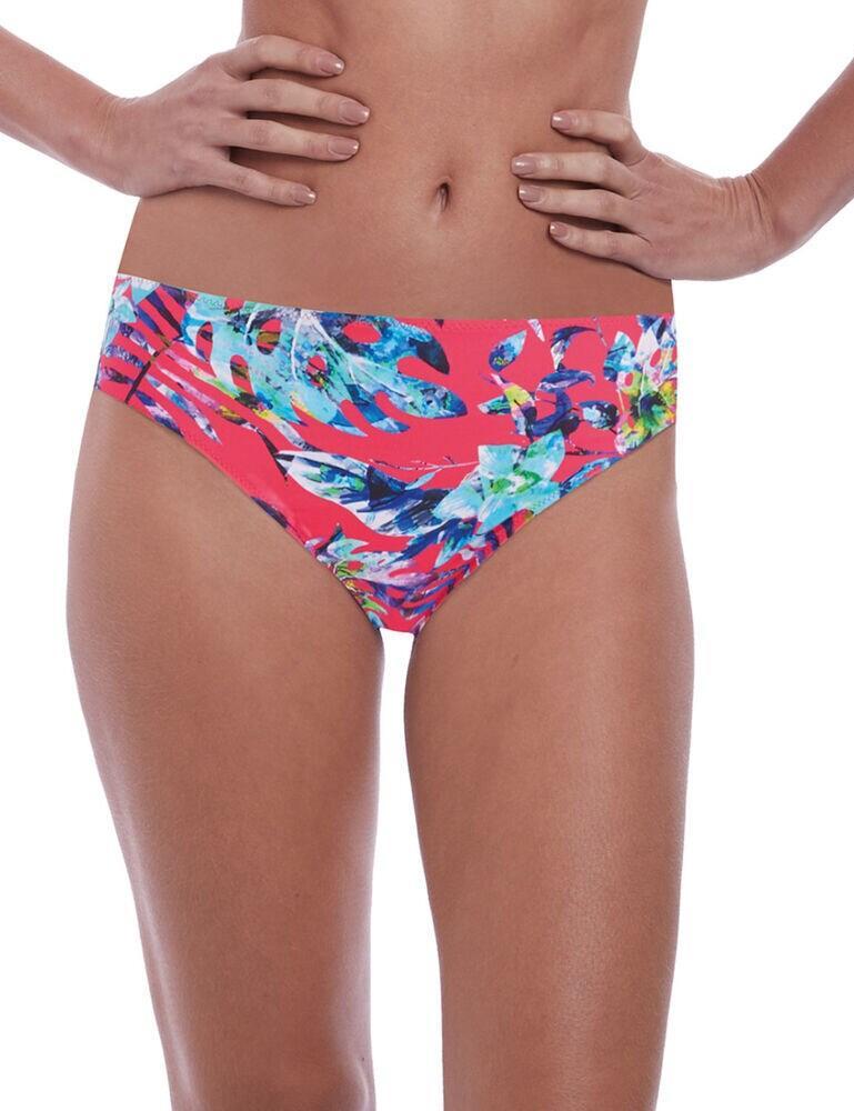 6546 Fantasie Fiji Mid Rise Bikini Brief - 6546 Azalea