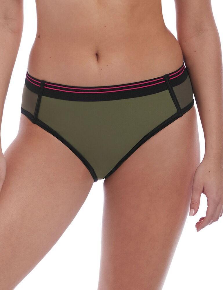 6823 Freya Club Envy Bikini Brief - 6823 Khaki