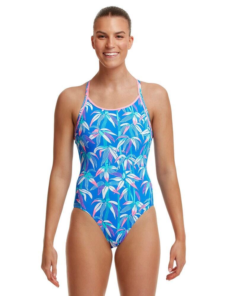 FS11L02633 Funkita Diamond Back One Piece Swimsuit - FS11L02633 BooBam Blue
