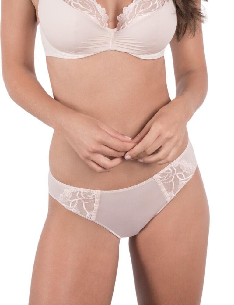 G41863 Maison Lejaby Catch Me Bikini Style Brief - G41863 Rose De Sables