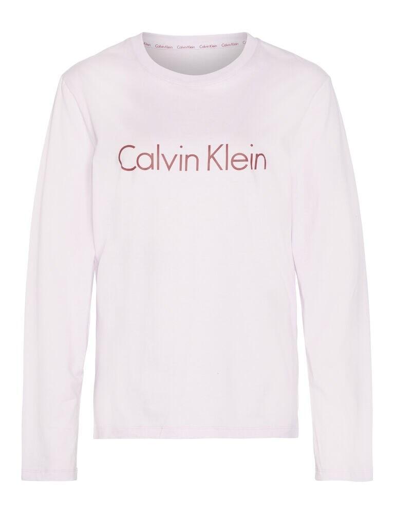 QS6164E Calvin Klein Comfort Cotton Long Sleeve Lounge T-Shirt - QS6164E5ZK Opal Pink