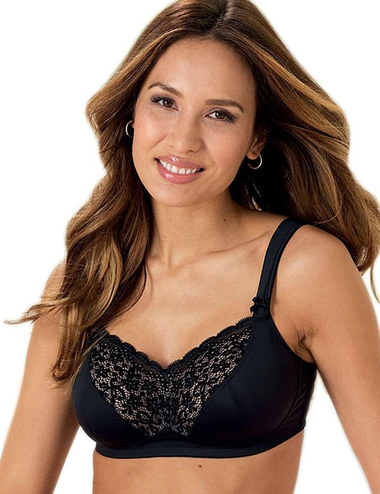 5712X Anita Havanna Post Mastectomy Bra - 5712X Black