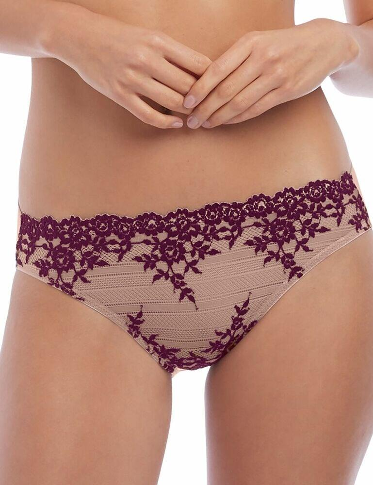 064391 Wacoal Embrace Lace Brief - 064391 Sphinx Pickled Beet
