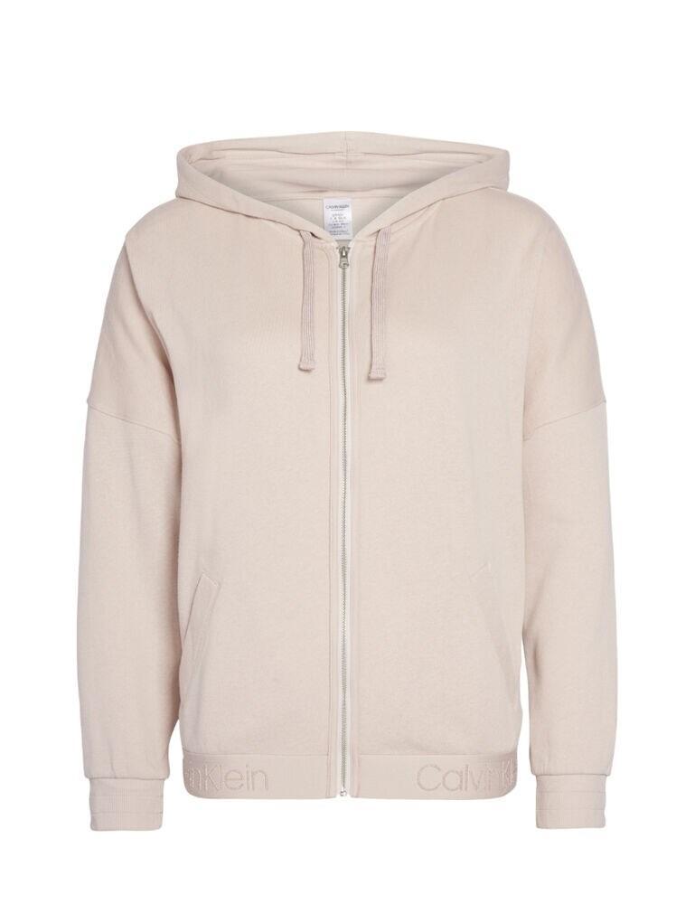 000QS6149E Calvin Klein Full Zip Hoodie Top - QS6149E Dreamer