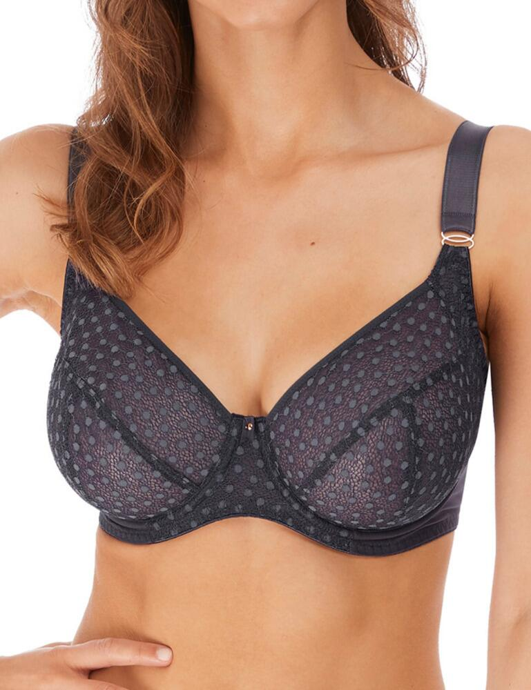 5202 Freya Starlight Underwired Balcony Side Support Bra - 5202 Slate