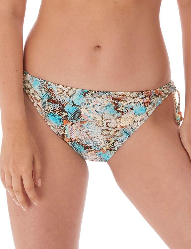 6776 Fantasie Manila Mid Rise Bikini Brief - 6776 Iced Aqua
