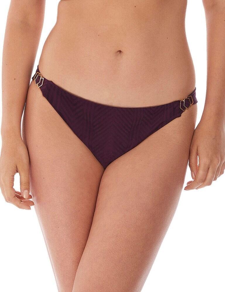 6905 Fantasie Long Island Mid Rise Tab Side Bikini Brief - 6905 Vino