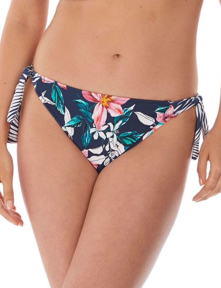 6896 Fantasie Port Maria Tie Side Bikini Brief - 6896 Ink