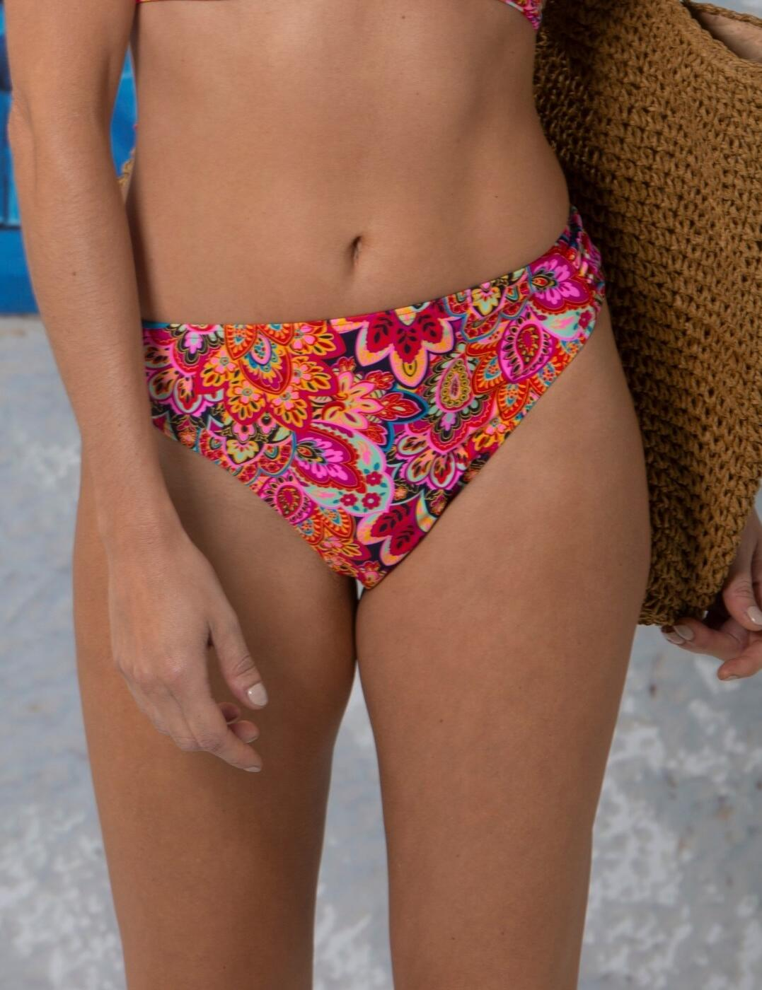 181872 Pour Moi Cote D'Azur Tab Bikini Brief - 181872 Multi