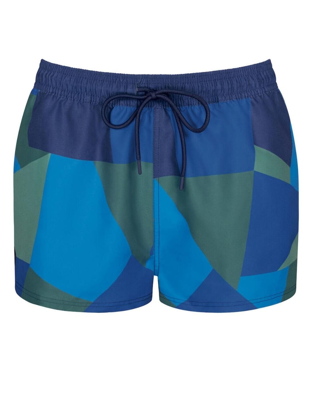 10207705 Sloggi Women Shore Short - 10207705 Blue/Dark Combination