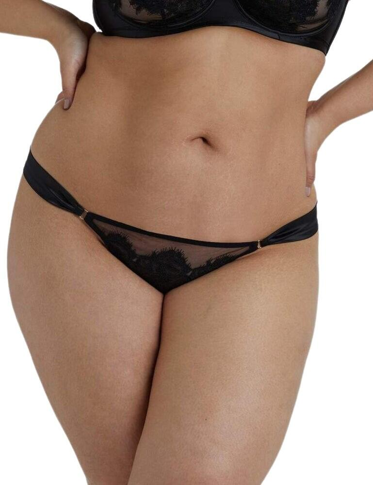 Playful Promises Anneliese Curve Brazilian Brief in Black