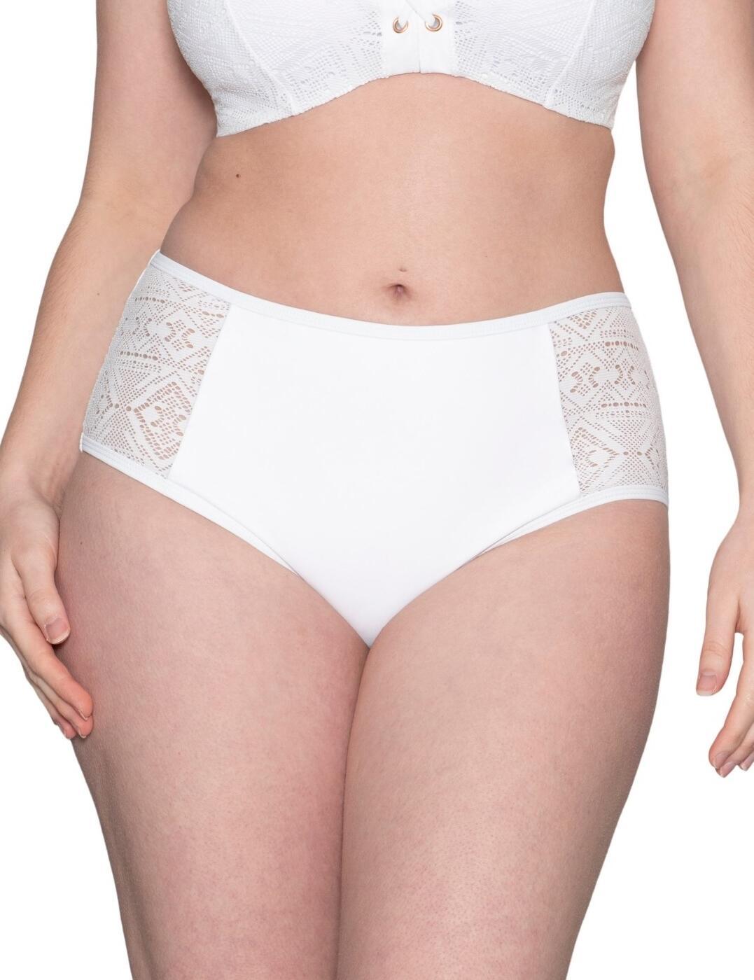 Curvy Kate Rush Bikini Brief in White