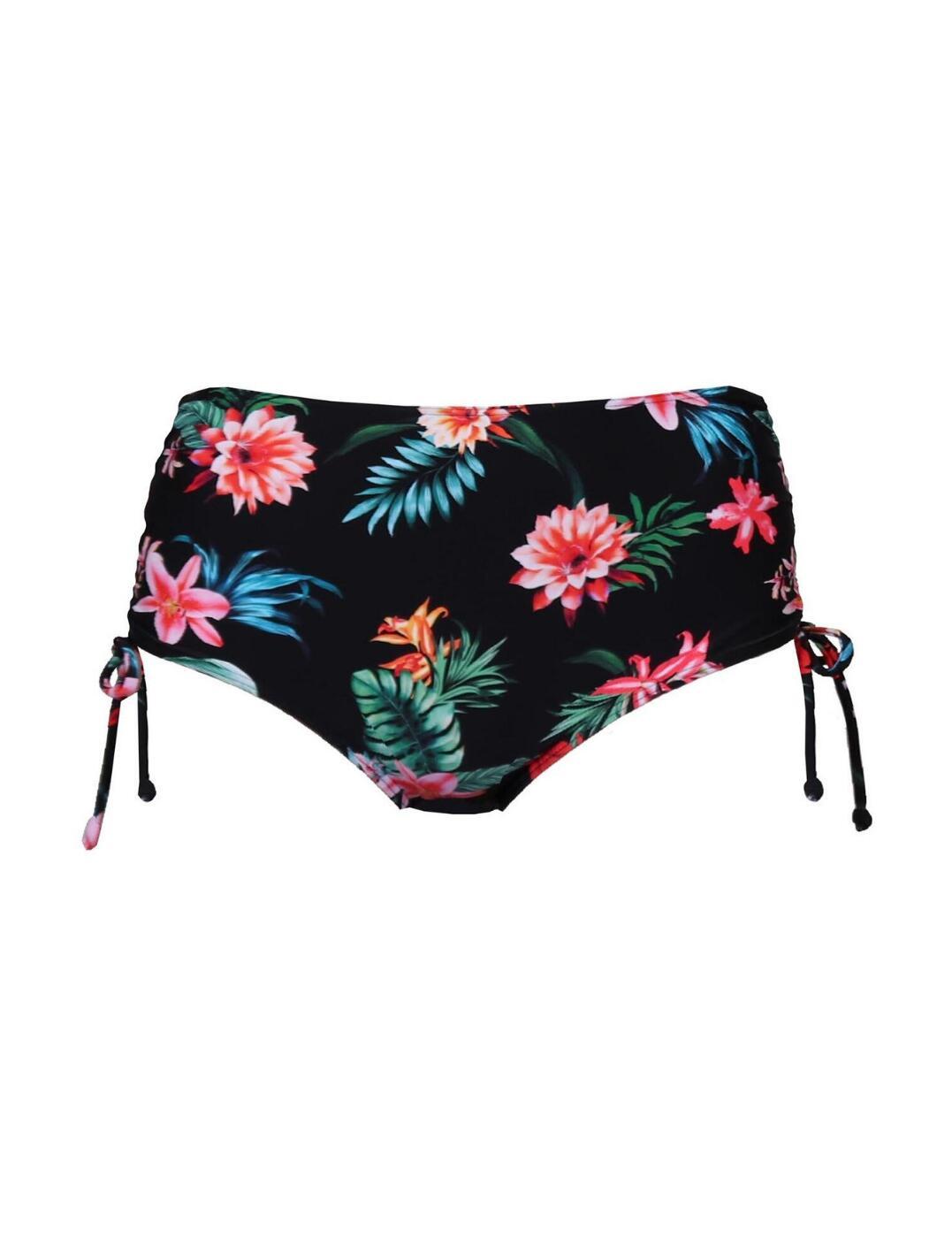 Pour Moi Waterfall Adjustable Bikini Brief Tropical