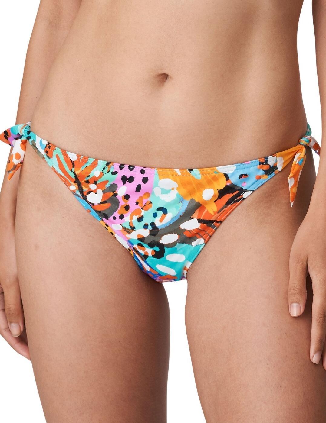 Prima Donna Swim Caribe Side Tie Bikini Brief Funky Vibe
