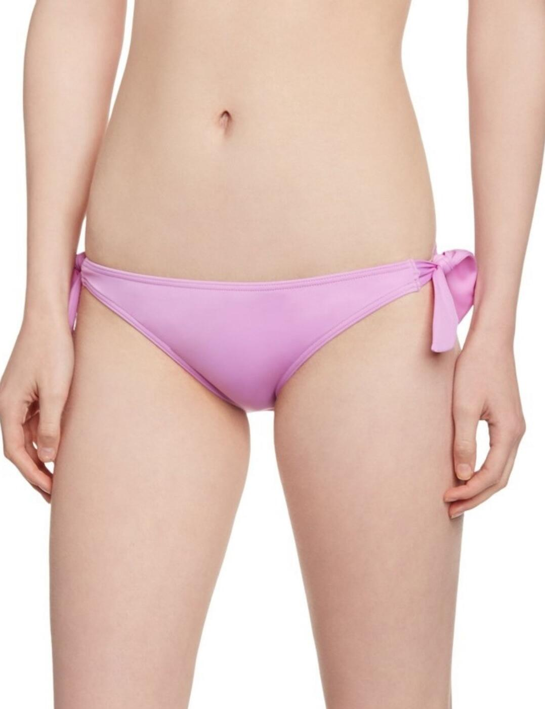 Lepel Bow Tie Side Pant in Lilac