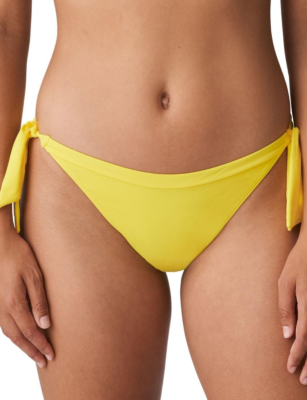 Prima Donna Swim Holiday Bikini Briefs Waist Ropes Yellow