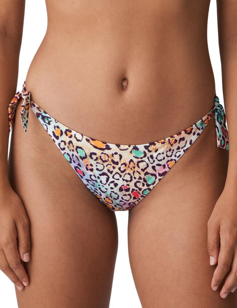Prima Donna Swim Polynesia Bikini Briefs Waist Ropes Tropical Leo