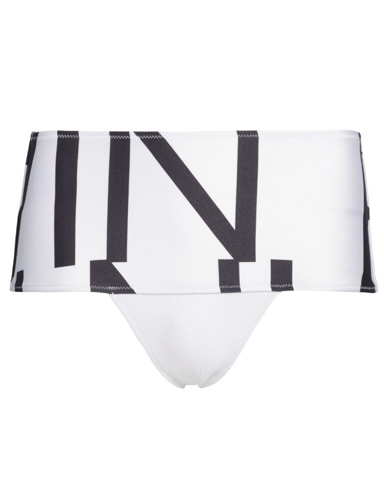 Calvin Klein Core Abstract High Rise Bikini Brief Klein Abstract White