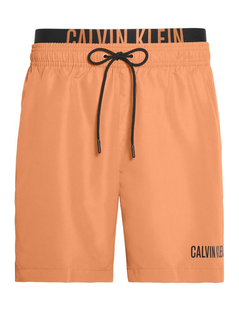 Calvin Klein Intense Power Mens Drawstring Trunks Cadmium Orange