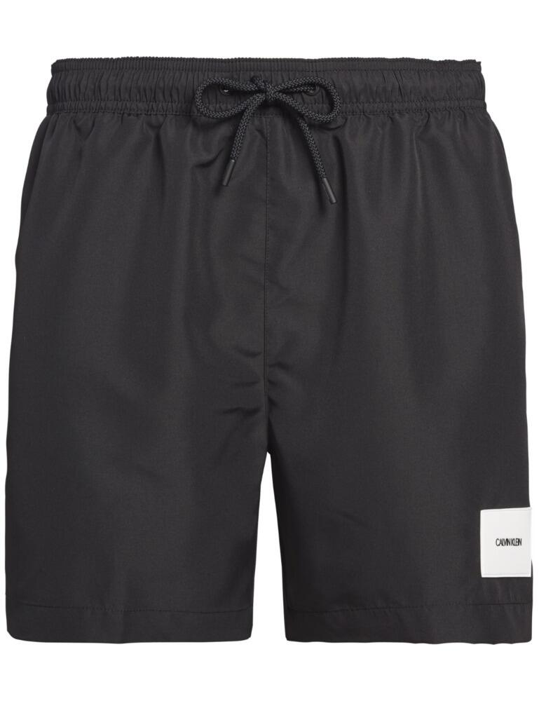 Calvin Klein Mens Drawstring Trunks Black