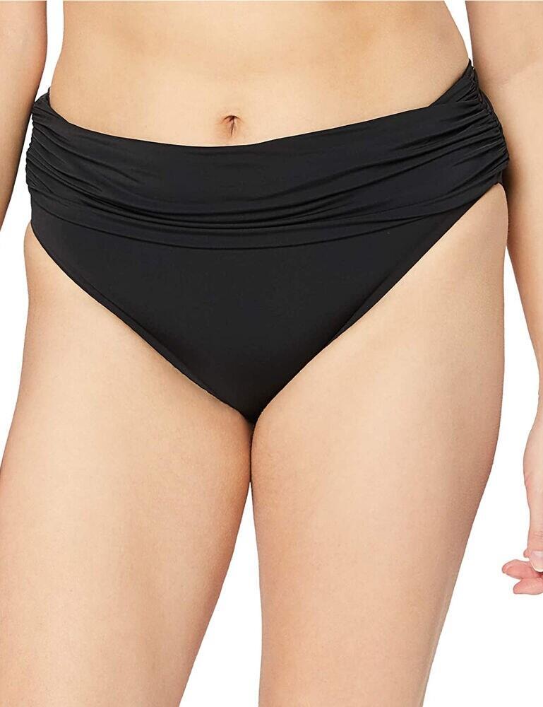 Calvin Klein Foldover Bikini Brief PVH Black