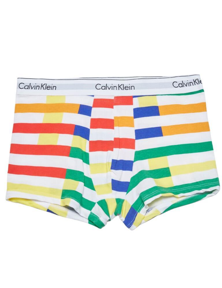Calvin Klein Modern Cotton Stretch Mens Brief Stripe/Multi